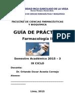 2015 3 Guía Farmacología II