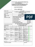 u2 Direct Shear Test & Unconfined Compression Test