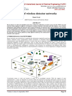 Study of wireless detector networks
