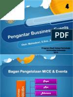 Konsep Pengelolaan MICE & Events new