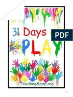 31 Days of Play eBook