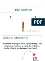 complete projectile motion ppt