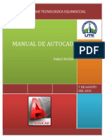 Manual Autocad Pablo Rivera