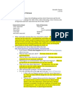 Michelle Dupray 3-16-10 Depression and Suicide WebQuest