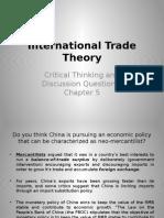 International Trade Theory-Answer N5 VB