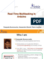 Real Time Multitasking Con Arduino