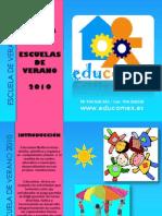 ESCUELA DE VERANO 2010