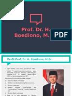 Profil Boediono