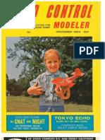 Radio Control Modeler November 1964