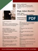 Teologija Adam Muchtin Plakat