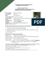 Blanko Pndftrn BPI LPDP Type Pa Budi
