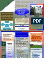 Leaflet Simda Desa