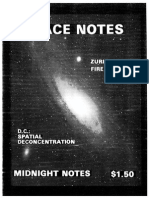Midnight Notes No.4 (1981) - Space Notes - Midnight Notes