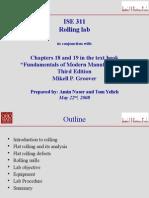 Rolling Lab Presentation