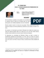 Elfeminicidio en Bolivia Causas y Consecuencias