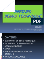 Refinements in BEGGS TECHNIQUE