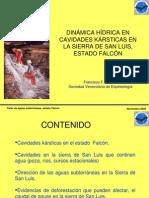 Dinamica Hidrica Cuevas