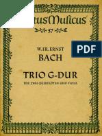 BachWFE Trio G-Dur Score