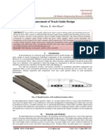 Enhancement of Track Guide Design