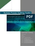 Business Process Auditing Toolkit