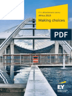 EY Africa Attractiveness Survey 2015 Making Choices