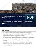 Commercial and Investment Proposal For National Oil & Gas Company