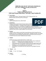 Modul Lawatan Lanskap 2014