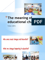1. the Meaning of Educational Change (1)