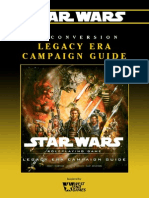 Star Wars D6 - Conversion - Legacy Era Campaign Guide