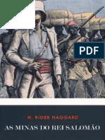 Henry Rider Haggard  - As Minas Do Rei Salomão