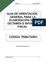 Guía de Orientación de Dictamen e Informe Fiscal