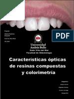 Colorimetria en Resinas Compuestas