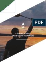 4 Etapes Vers La Paix d Esprit Financiere