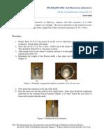 Standard Proctor Compaction Test