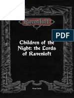 Children of the Night the Lords of Ravenloft