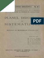 Planul Director de Sistematizare Al Municipiului Bucureşti