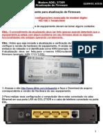 Atualização de Firmware Dlink