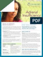 FS APD Adrenal Insufficiency EN612