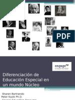 Differentiation for Special Education Traduccion