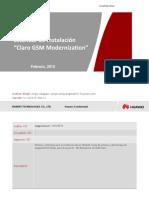 Estandar de Instalacion Claro GSM Modernization V1_Draft2_20150309