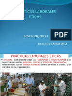 Etica y Deon_Sesión 28_2015_ Prácticas Laborales