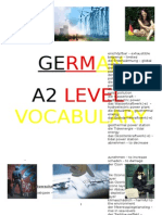 German A2 Vocabulary