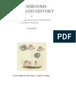Mushrooms Russia and History Volume 1