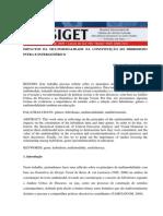 Artigo Impactos Da Multimodalidade Na Constituicao Do Hibridismo Intra e Intergenerico