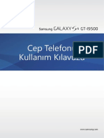 Galaxy S4 Kullanım Klavuzu