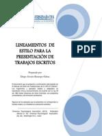 Normas Apa Para El Ces 6th Ed