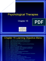 Psychology Therapies