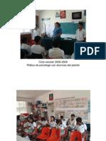 Ciclo escolar 2008-2009