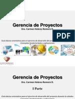 Dra. Carmen Romero Gerencia de Proyectos 2015