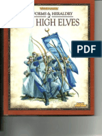 Uniforms & Heraldry of the High Elves